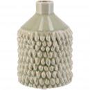 Ceramic vase Danil, D9cm, H13cm, opening 2cm, gree